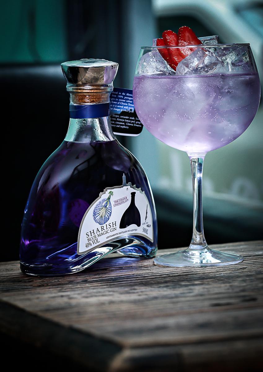 Sharish Blue Magic Gin