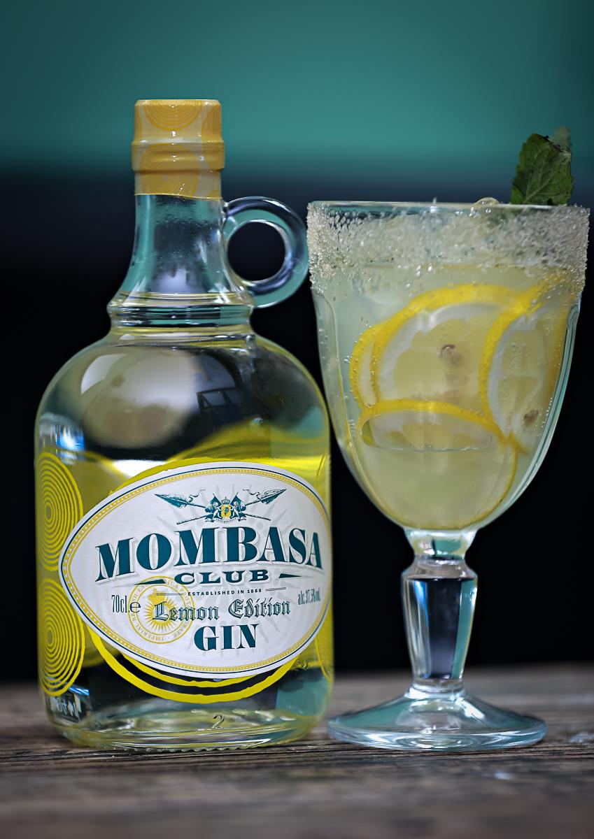 Mombasa Club Lemon Gin