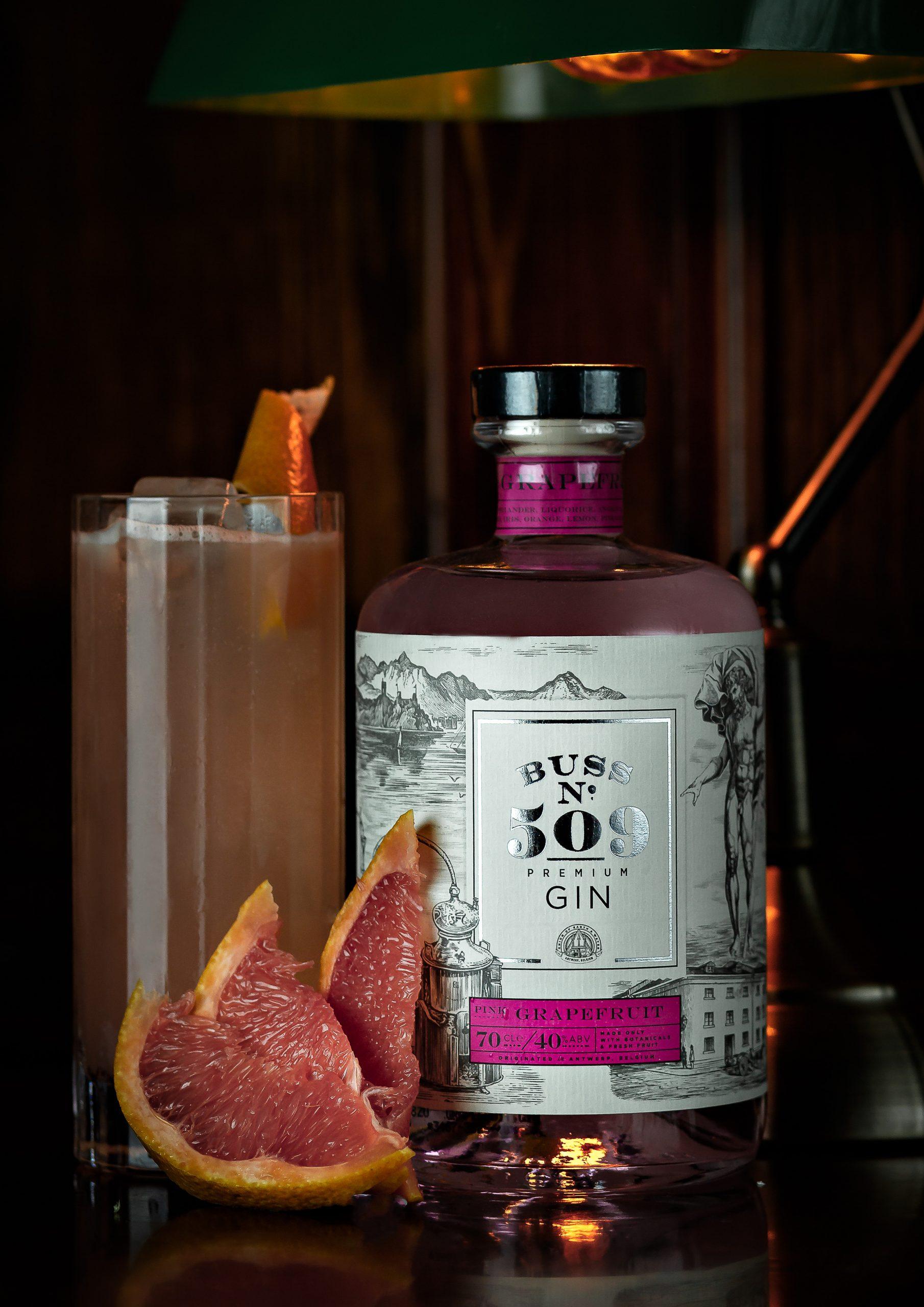 Pink Grapefruit gin cocktail ideas